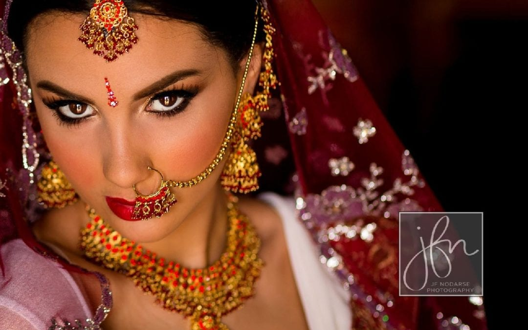Modern Styled South Asian Bride