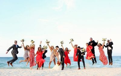 Ashley and Dominic's Cancun Wedding