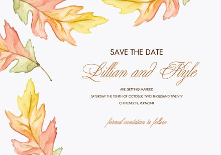 7 Save the Date Cards Under $2