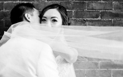 Joni and Danny's Dynamic Minimalist Wedding