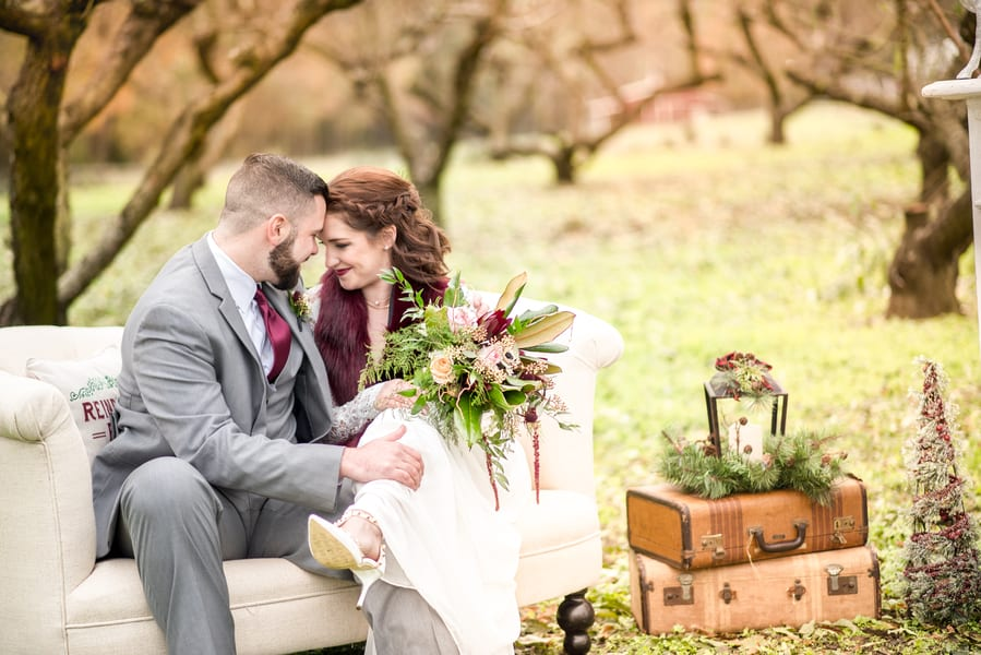 Styled Shoot: Rustic Vision in Sage & Cranberry