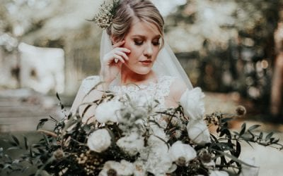 Vintage Earthy Styled Shoot