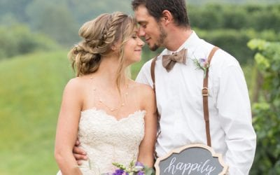Style Shoot:  Romantic Vineyard Wedding  in Charlottesville
