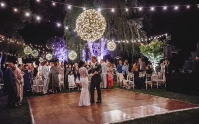Monica & Stephen's Vintage Garden Wedding