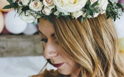 Style shoot:  Bohemian Balloon Wedding