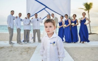 Destination Wedding in Kukua Punta Cana, Dominican Republic