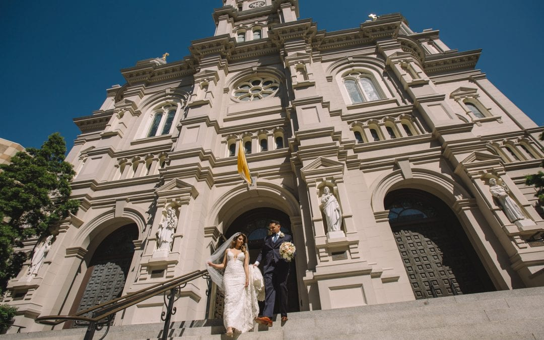Erika & Mario Sacramento Cathedral Wedding