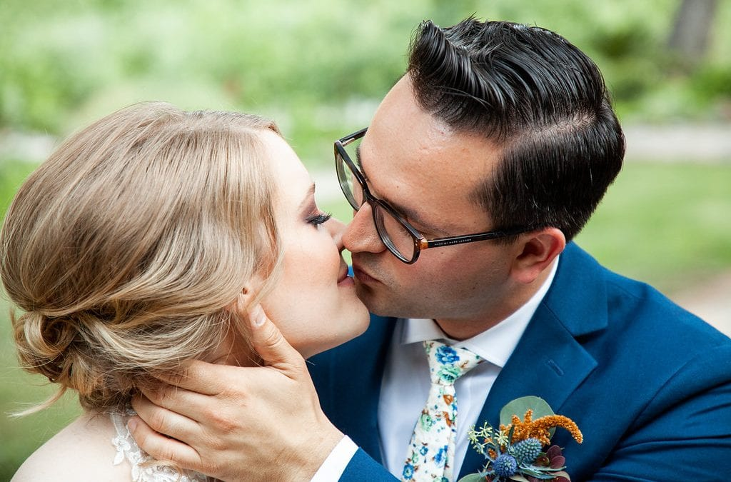 Styled Intimate Ceremony at Centerville Estates