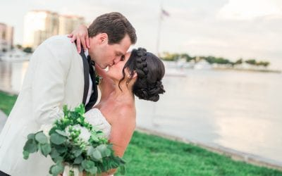 Downtown St. Petersburg Elegant Garden Wedding