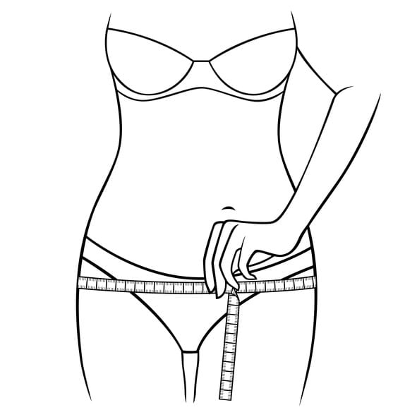 how to measure your hips