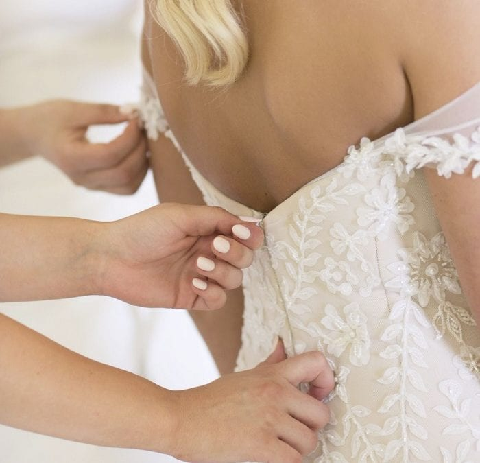 When to Schedule Wedding Dress Alterations