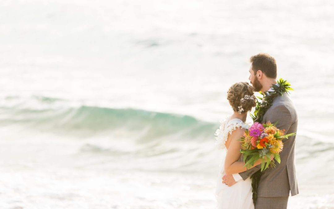 Sarah & Alex's Maui Beach Wedding