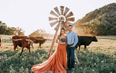 Wildflowers, Longhorns & Whataburger! – A Texas Styled Wedding