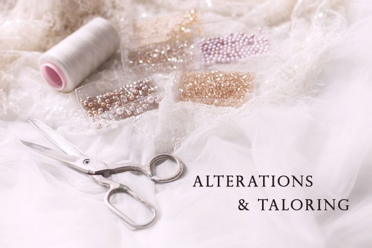 4 Things You Need to Know About Wedding Dress Alterations