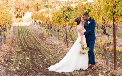 Traci & Kory Autumn Winery Wedding