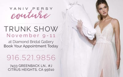 Yaniv Persy Couture( Israel) Trunk Show November 9-11
