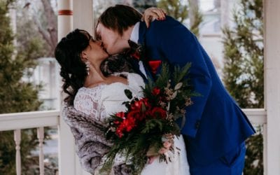 Christmas Inspired Wedding in Atlanta, Georgia: Styled Shoot