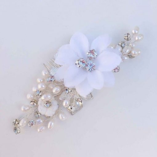 Wedding accessories hair comb
