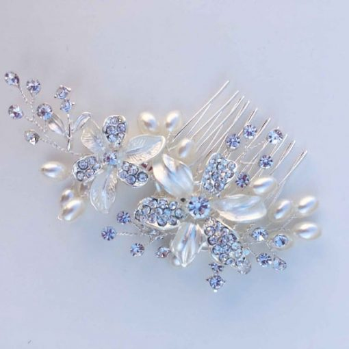 bridal comb for wedding hair