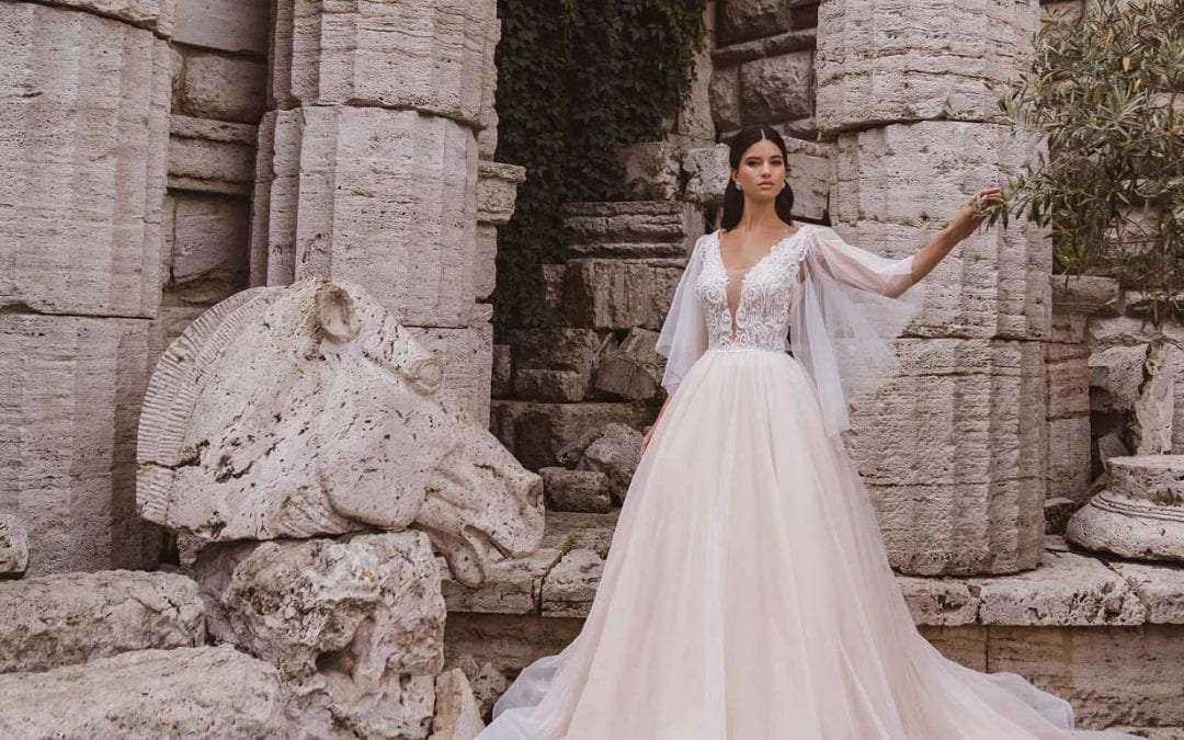 6 Types of Wedding Dresses With Sleeves