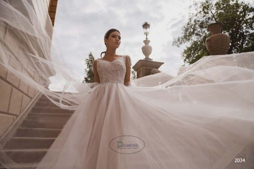 tulle wedding dress for your destination wedding