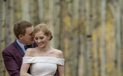 Snowy Fall Wedding