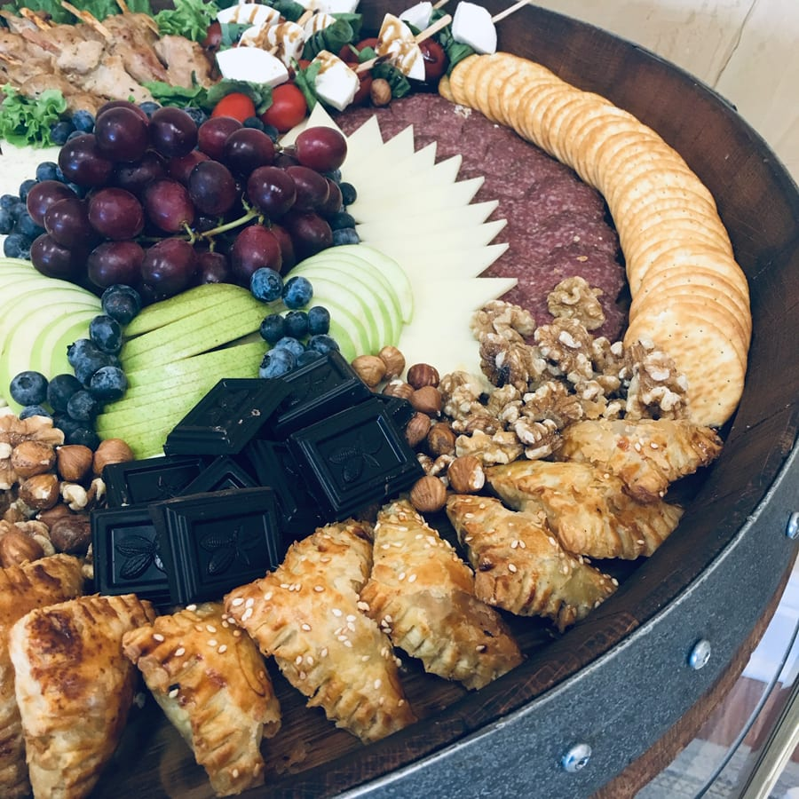 Food tray for VIP appointment