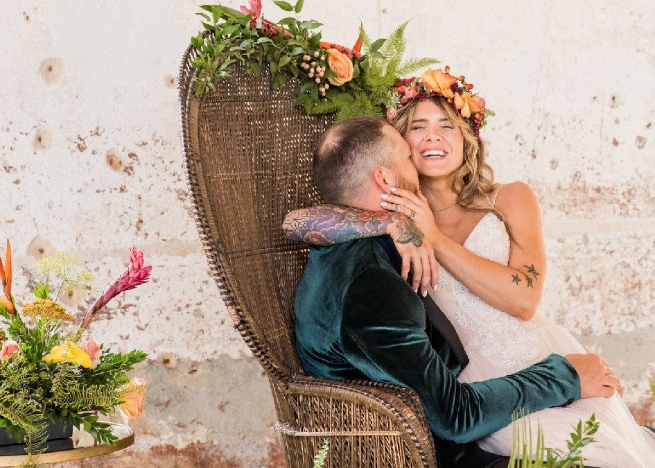 Providence Cotton Mill Wedding Style Shoot