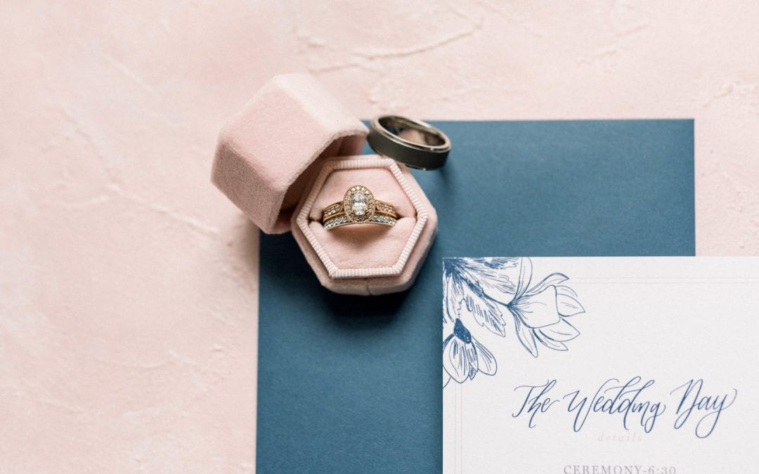 Buying Guide Yellow, White, and Rose gold engagement rings.