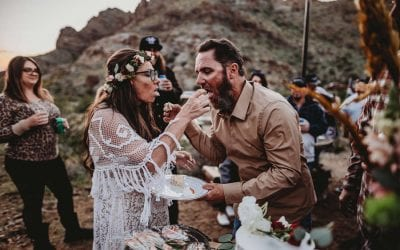 Arizona Desert Vow Renewal