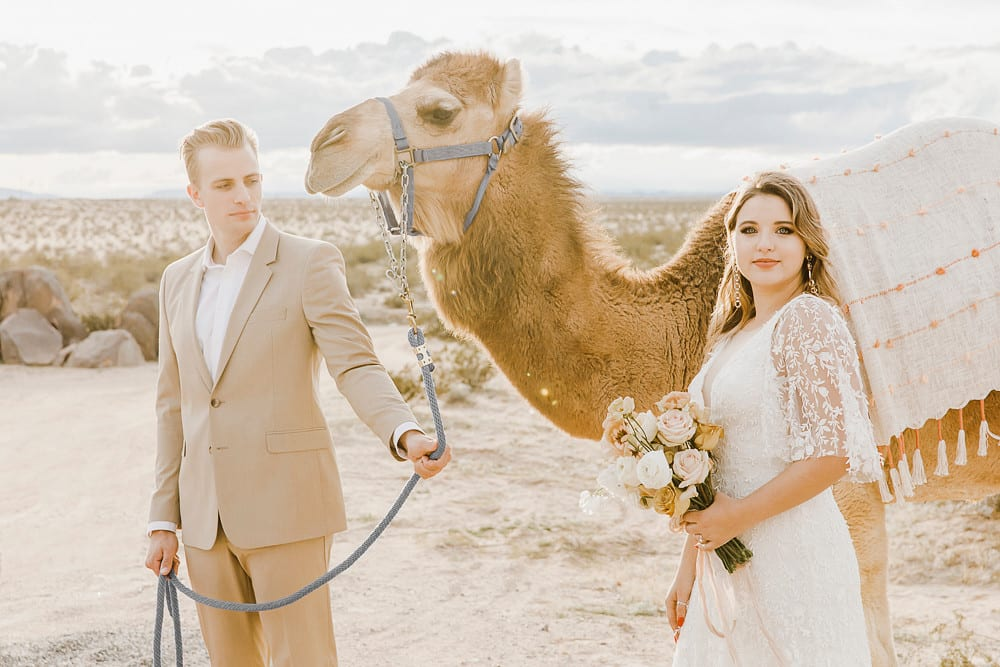 Styled Morrocan Sunset Wedding