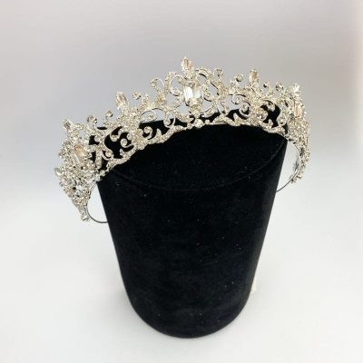 Tiara wedding dress
