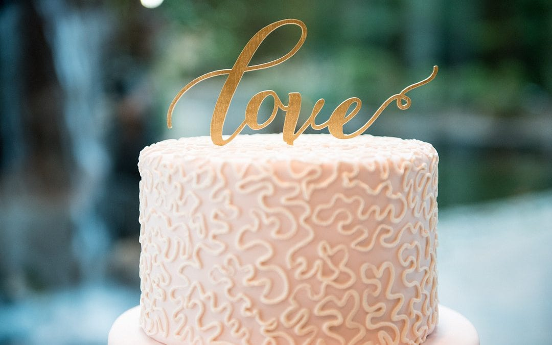 Can the wedding cake be frozen?